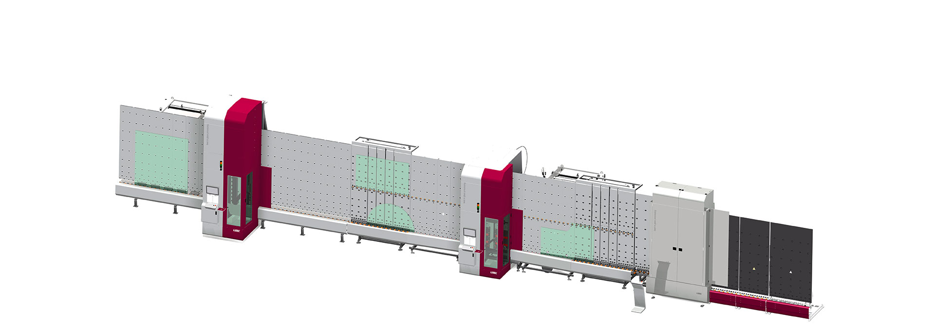 Modular and fully integrated processing line