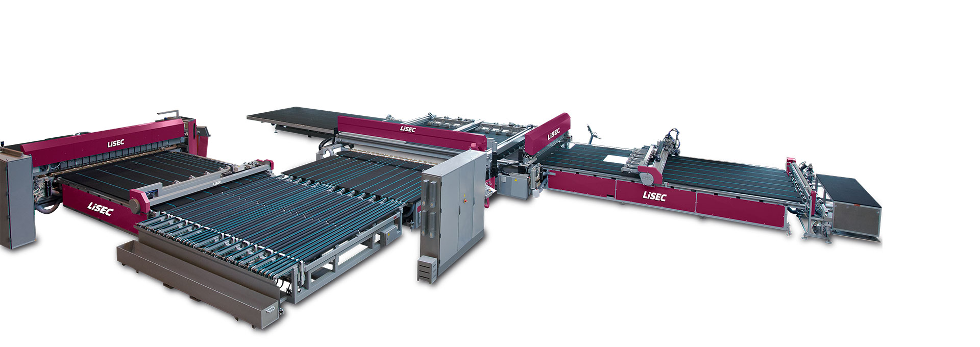 Laminated glass cutting machine for high performance (VZ)